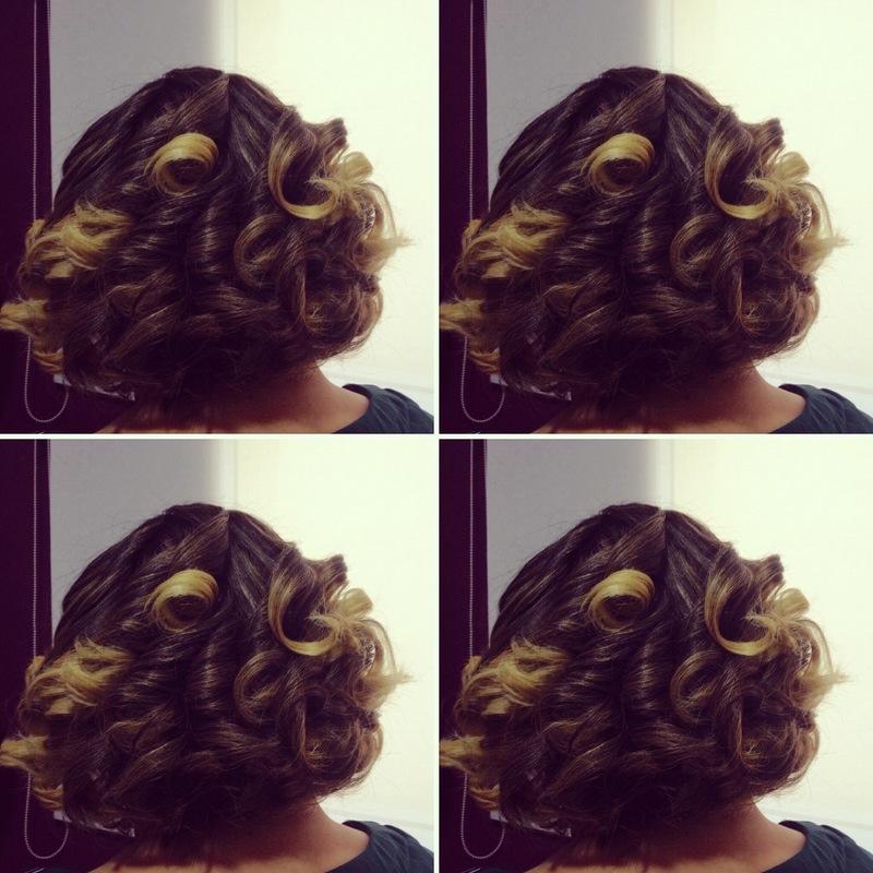 Modelagem de cabelos. cabelo maquiador(a)