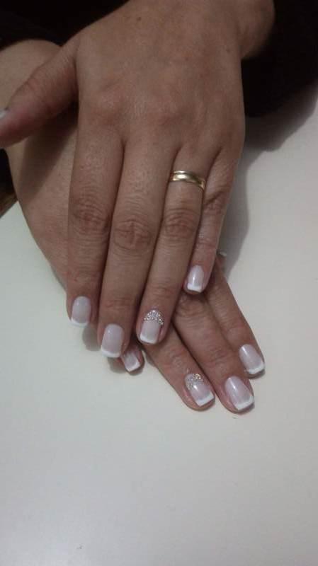 #maonoiva #francesinha  unha cabeleireiro(a) manicure e pedicure