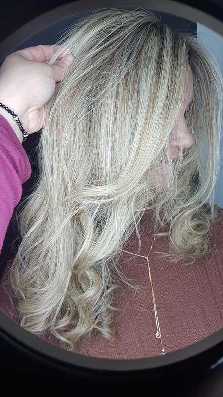 Luzes 💜 #loiro #loiroperolado #amooquefaco cabelo cabeleireiro(a) auxiliar cabeleireiro(a) escovista
