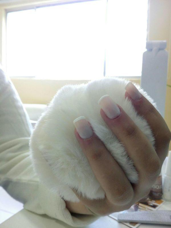 Finalizada unha manicure e pedicure manicure e pedicure