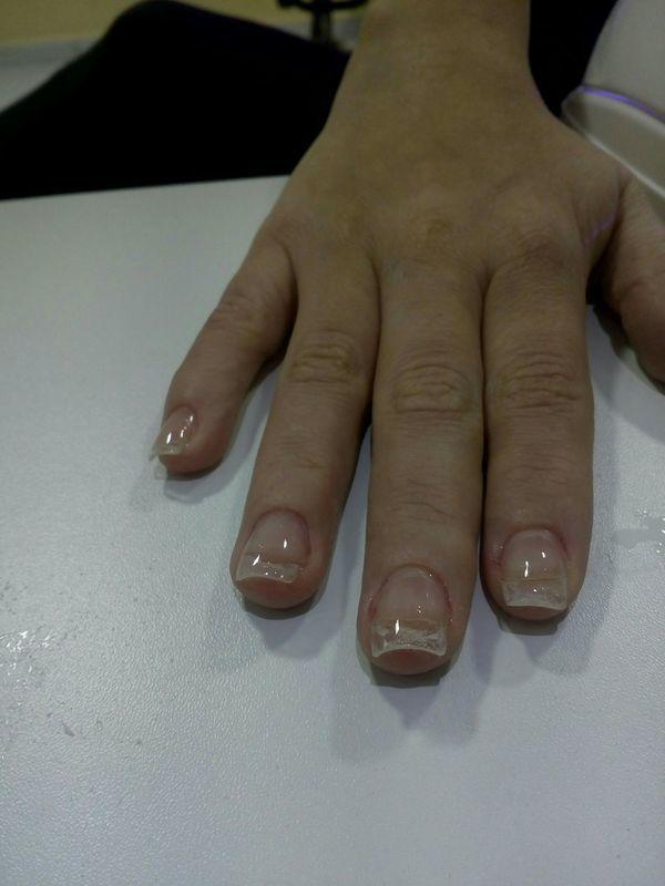 Gel finalizado unha manicure e pedicure manicure e pedicure