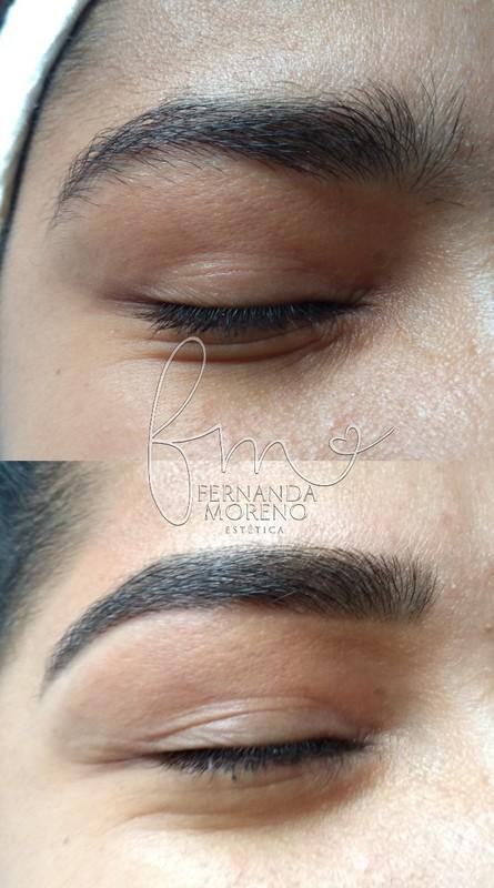 Design de sobrancelha com aplicação de henna Harmonia e destaque nas sobrancelhas ♥️ Sem marcar de mais e corrigindo as imperfeições! maquiagem esteticista designer de sobrancelhas micropigmentador(a) cosmetólogo(a)