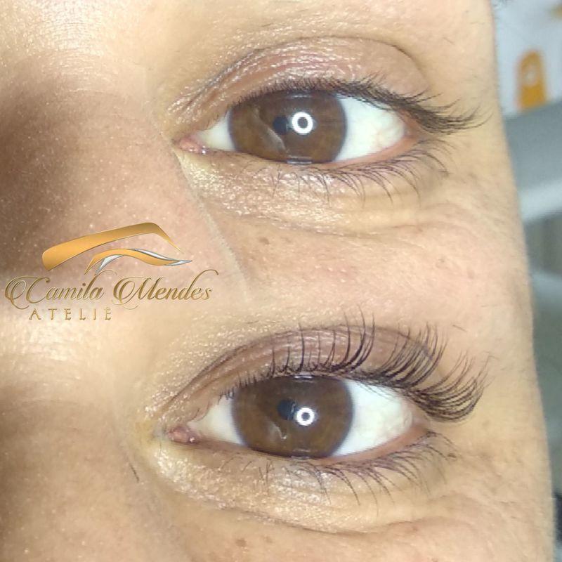 Lash Lifting - Cílios curvados e tingidos por até 90 dias outros designer de sobrancelhas micropigmentador(a) outros
