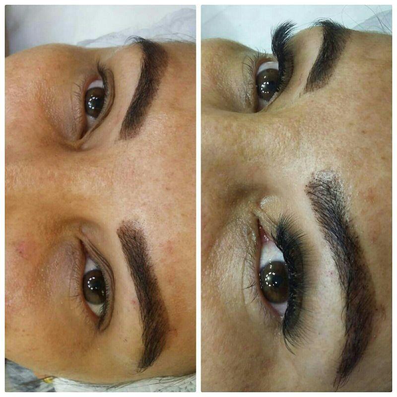 Alongamento de cilios! maquiagem cabeleireiro(a) maquiador(a) barbeiro(a) designer de sobrancelhas dermopigmentador(a)