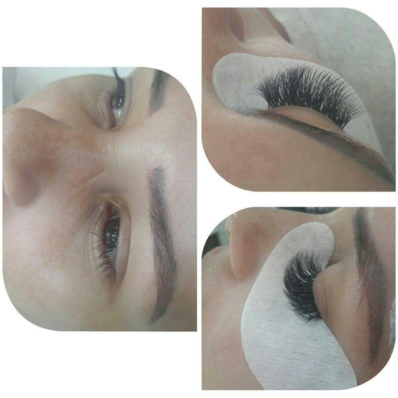Alongamento de cilios !  Modelo russo ! maquiagem cabeleireiro(a) maquiador(a) barbeiro(a) designer de sobrancelhas dermopigmentador(a)