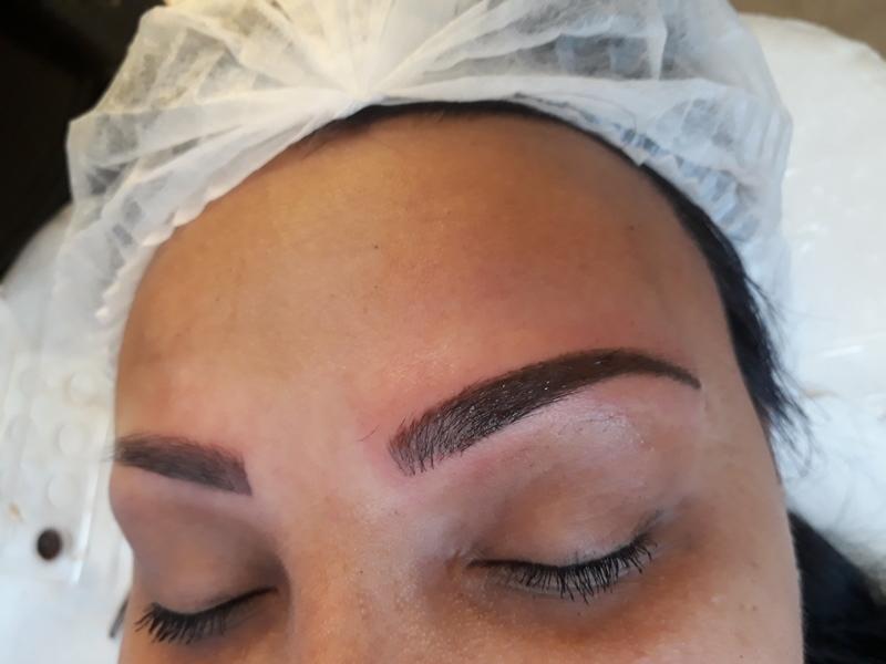 Micropgmentação híbrida  dermopigmentador(a) designer de sobrancelhas cabeleireiro(a) naturólogo(a)