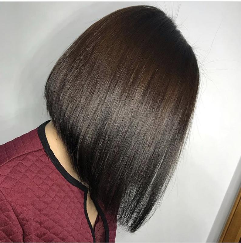 Corte e progressiva  cabelo cabeleireiro(a)