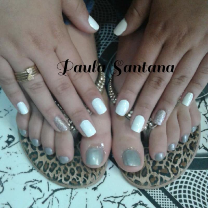 unha manicure e pedicure recepcionista