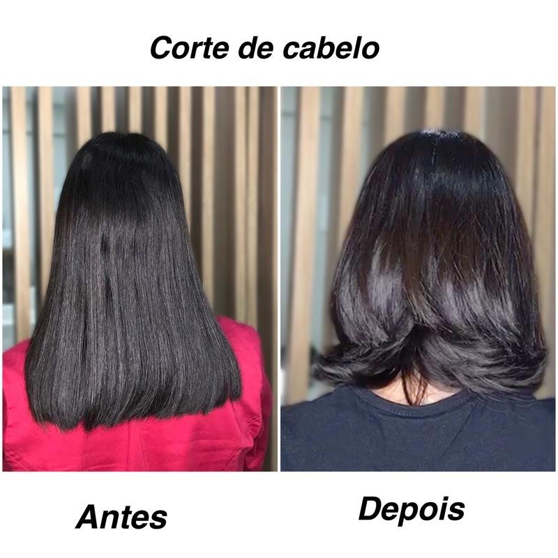Corte de cabelo repicado e despojado  #cortedecabelo #cabeleireira #cabelo  cabelo cabeleireiro(a) maquiador(a)