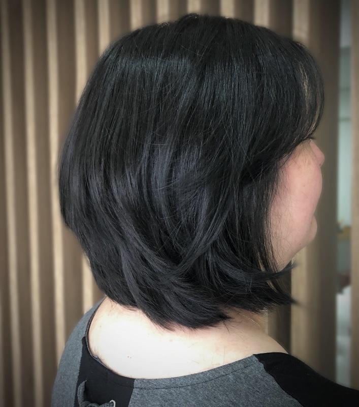 corte graduado  #corte #cortegraduado #shortbob cabelo cabeleireiro(a) maquiador(a)