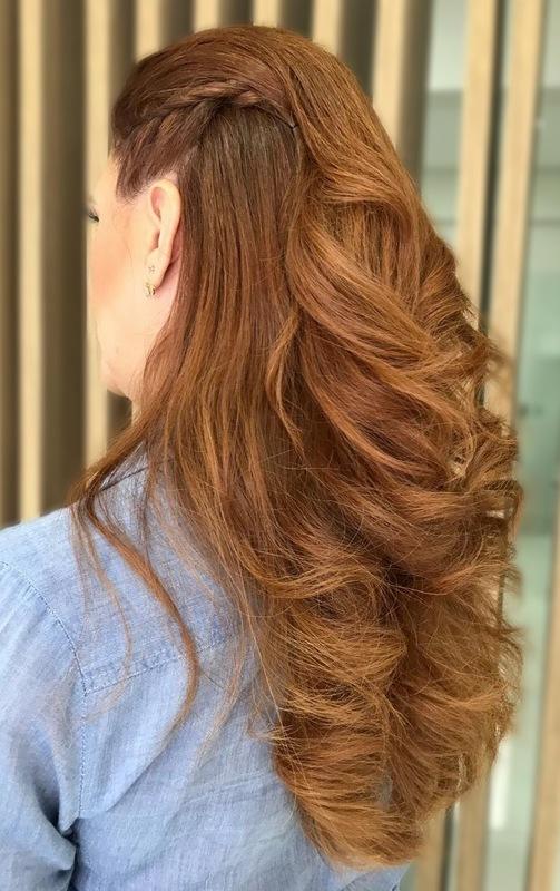 Penteado madrinha cabelo cabeleireiro(a) maquiador(a)