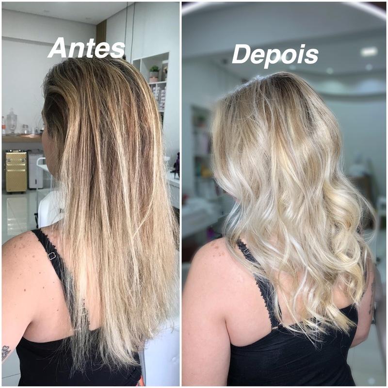 Luzes  cabelo cabeleireiro(a) maquiador(a)