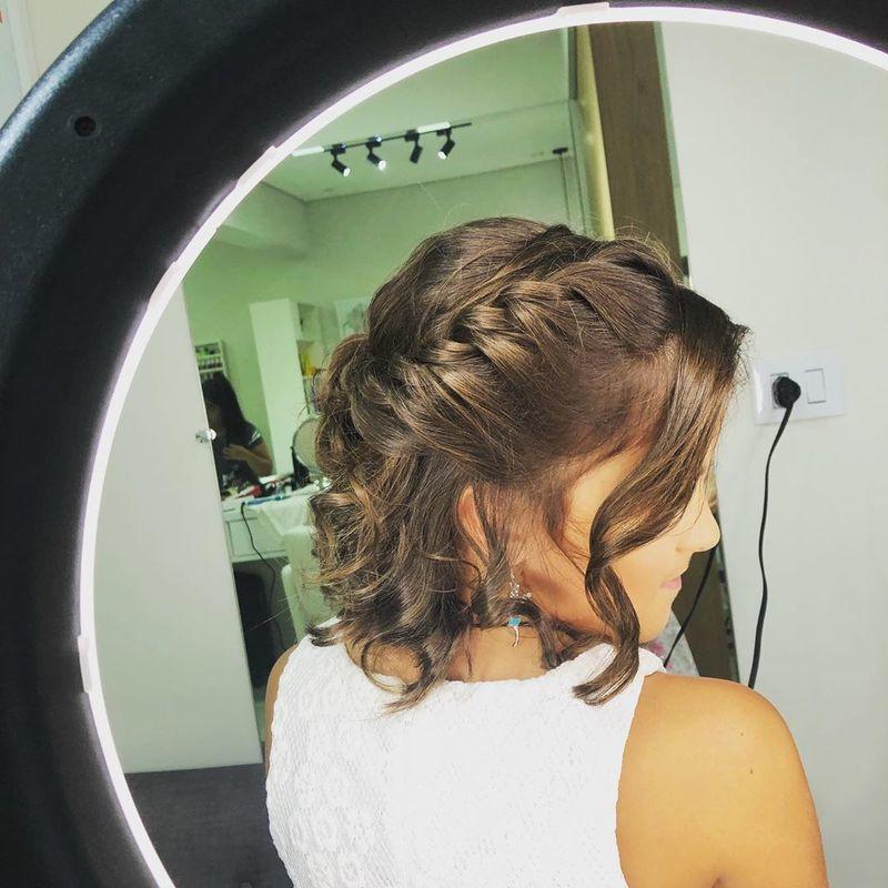 penteado infantil cabelo cabeleireiro(a) maquiador(a)