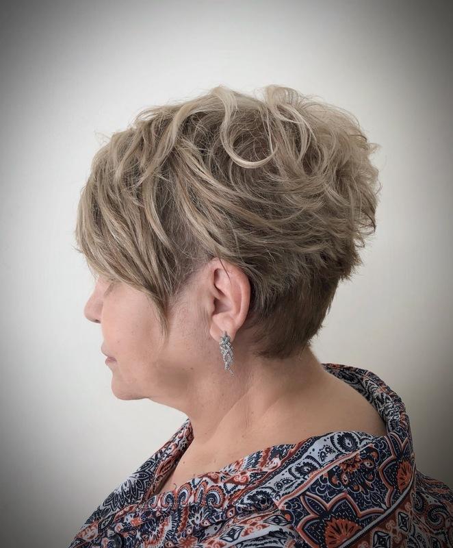 Pixie cut  #corte #pixie #cabeleireira cabelo cabeleireiro(a) maquiador(a)