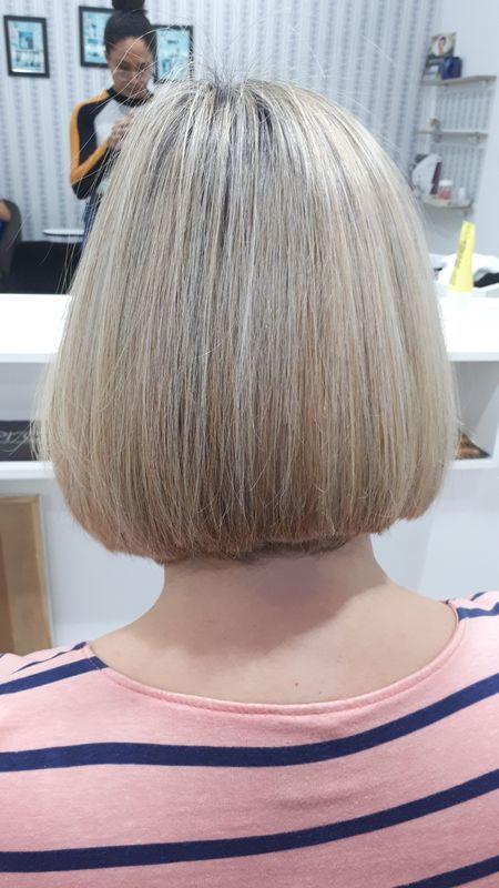 Chanel clássico e cor . #chanel #blond #andreiasolwati cabelo cabeleireiro(a) depilador(a) manicure e pedicure