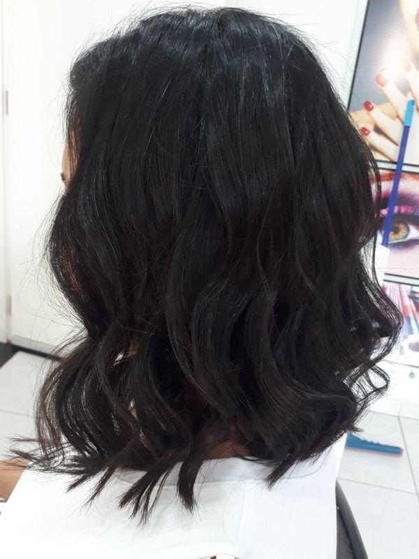 #longbob finalizado com babyliss. cabeleireiro(a) depilador(a) manicure e pedicure