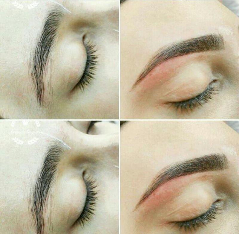 Design com linha e henna estética designer de sobrancelhas assistente esteticista micropigmentador(a) outros