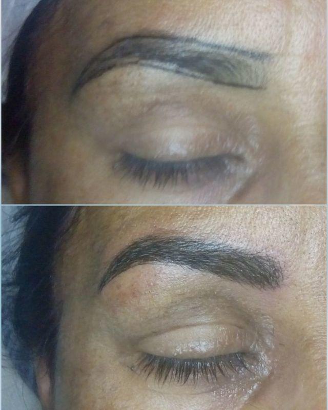 Micropigmentação fio a fio outros cabeleireiro(a)