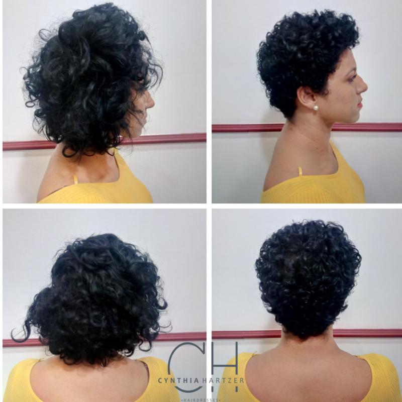 BC para eliminar todas as pontas lisas. cabelo cabeleireiro(a)