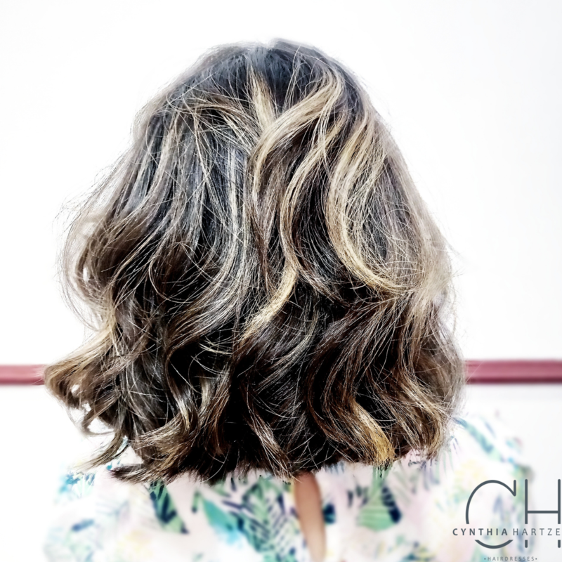Escova ondulada  cabelo cabeleireiro(a)