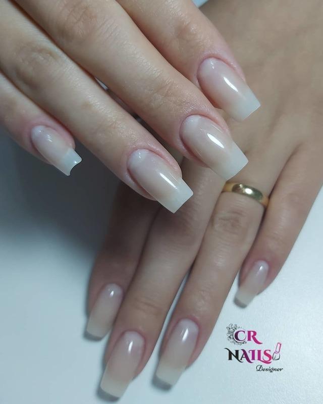 Alongamento em fibra de vidro  unha empresário(a) manicure e pedicure