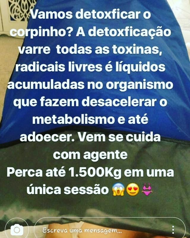 Detox estética esteticista consultor(a) cosmetólogo(a)