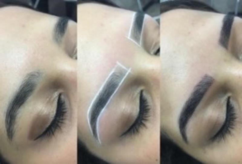 Técnica de Microblading.  estética esteticista