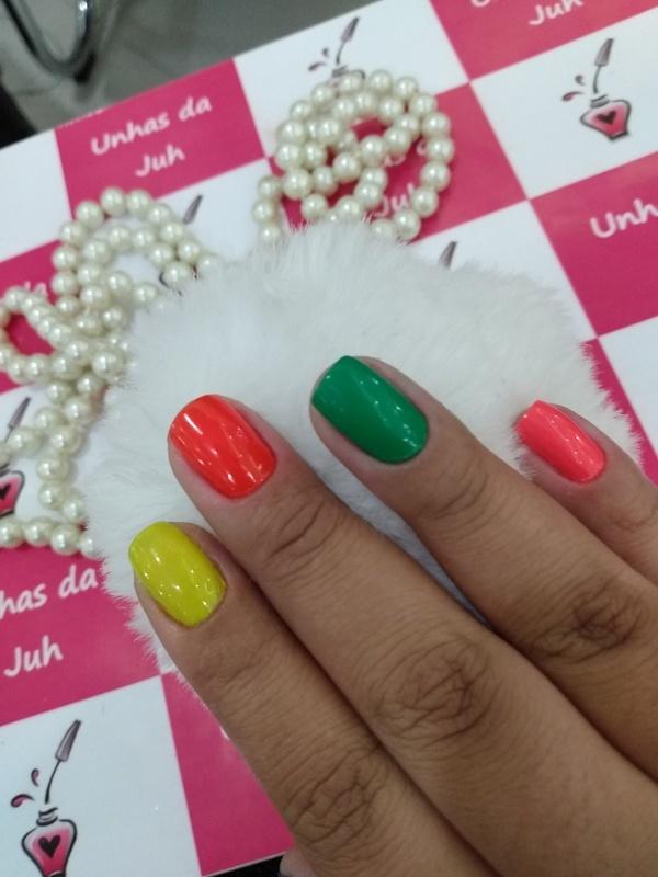 #nails #lovenails  unha manicure e pedicure