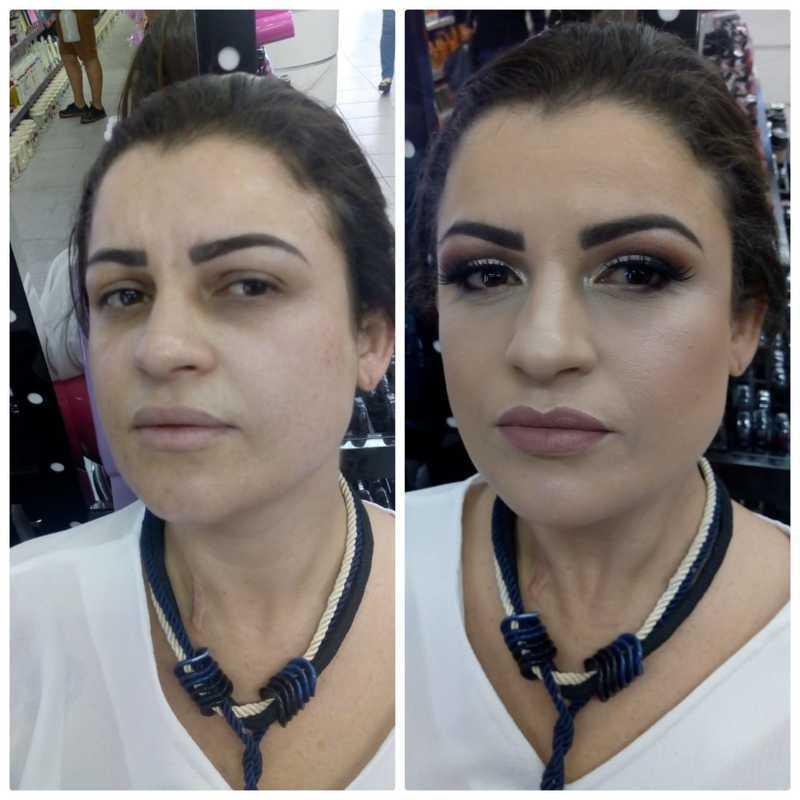 maquiagem esteticista maquiador(a)