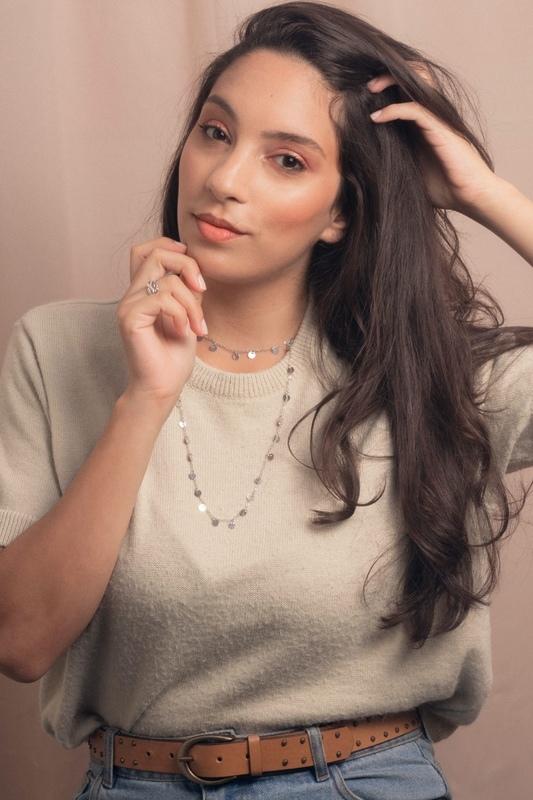 Modelo Ticiane Ferreira para o Estúdio Varal. maquiagem maquiador(a)