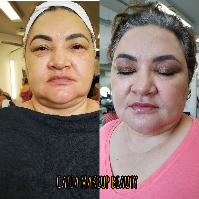 Pele madura maquiagem maquiador(a) designer de sobrancelhas