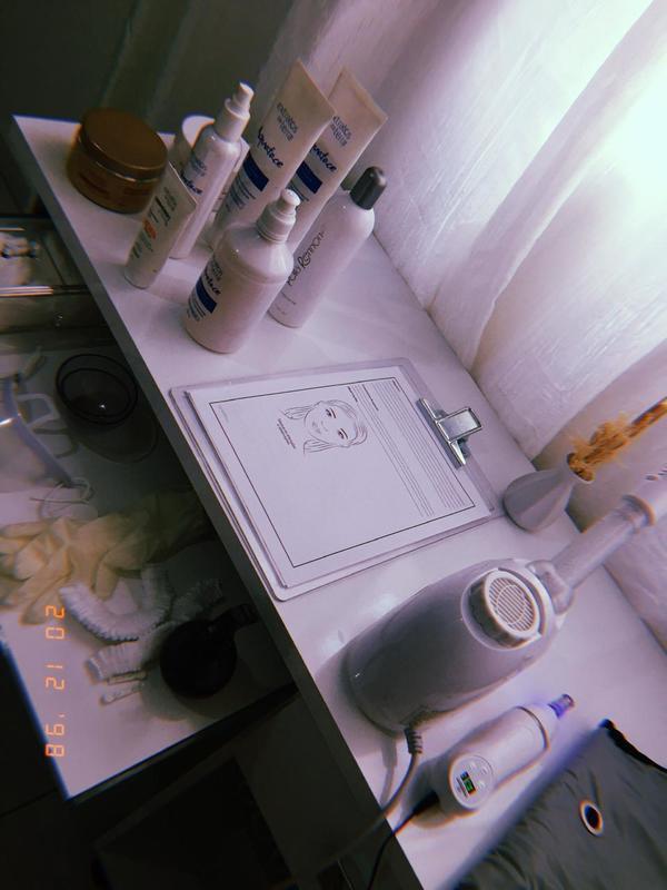 estética esteticista consultor(a) depilador(a)