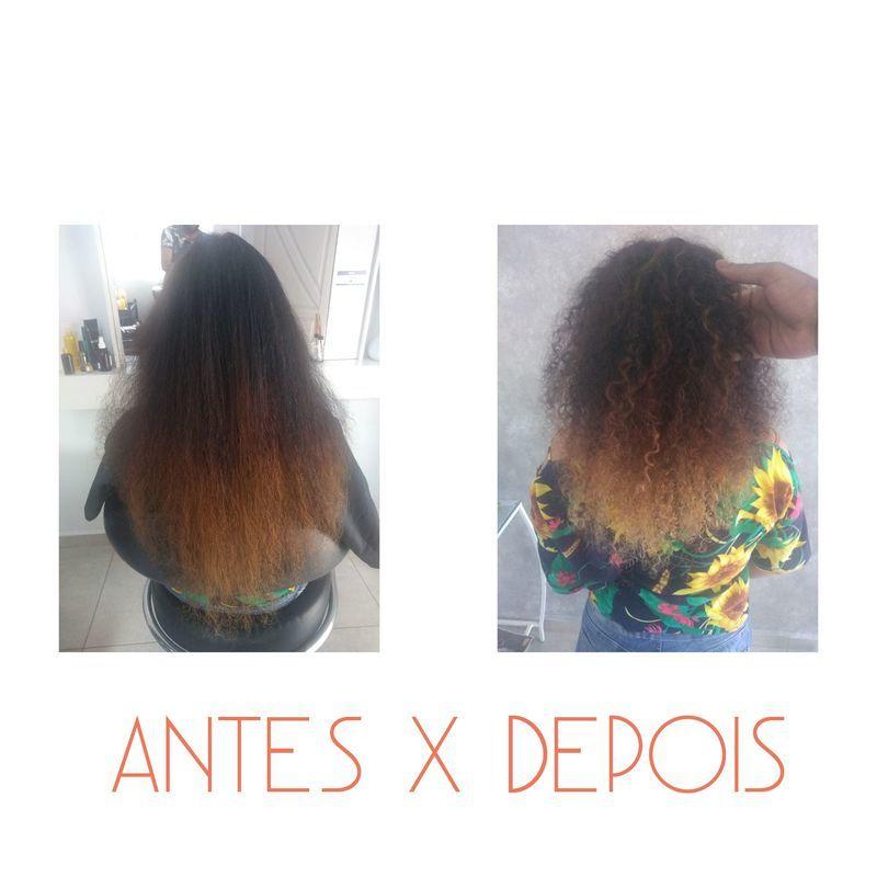 A cliente apenas queria uma suavidade na passagem de cor + fitagem (Designer de mechas) cabelo cabeleireiro(a) auxiliar cabeleireiro(a)