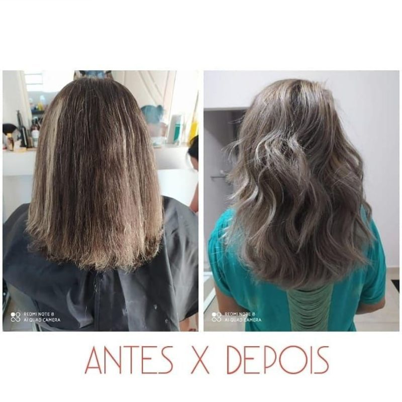 Correção de cor (Designer de Mechas) cabelo cabeleireiro(a) auxiliar cabeleireiro(a)