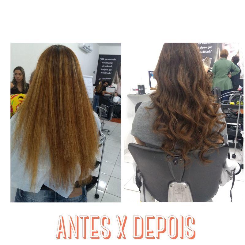Correção de cor cabelo cabeleireiro(a) auxiliar cabeleireiro(a)