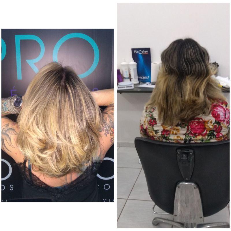 Correção de cor maravilhosa 🖤 cabeleireiro(a) auxiliar cabeleireiro(a)