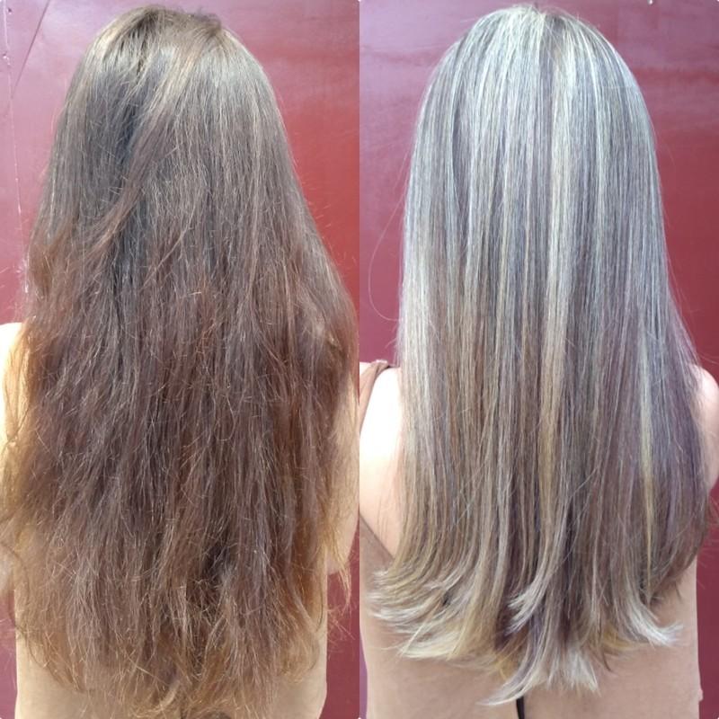 Luzes e corte! cabelo cabeleireiro(a) micropigmentador(a) maquiador(a)