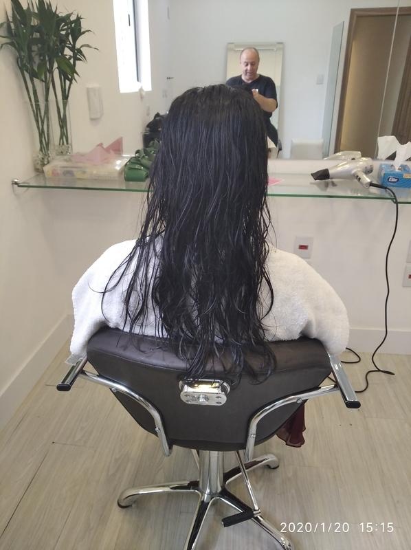 Antes do longe bob cabelo cabeleireiro(a) barbeiro(a) maquiador(a) designer de sobrancelhas depilador(a)