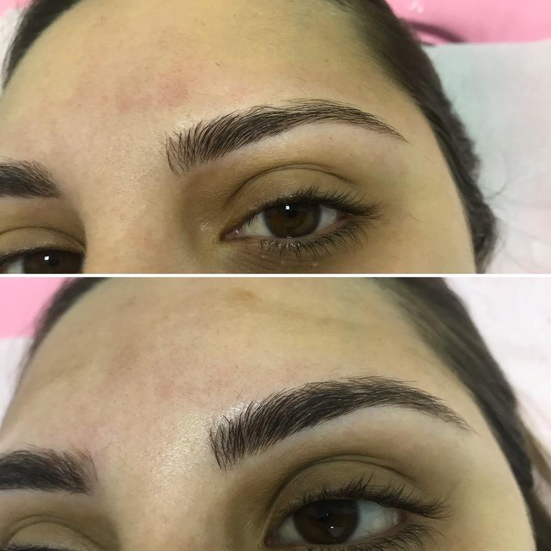 Micropigmentação fio a fio realista outros designer de sobrancelhas micropigmentador(a) depilador(a) esteticista