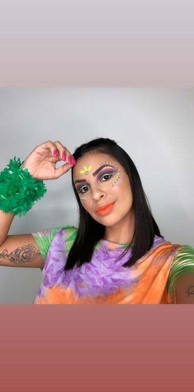 Maquiagem carnaval 2020 ! . . .  #carnaval  maquiagem maquiador(a)