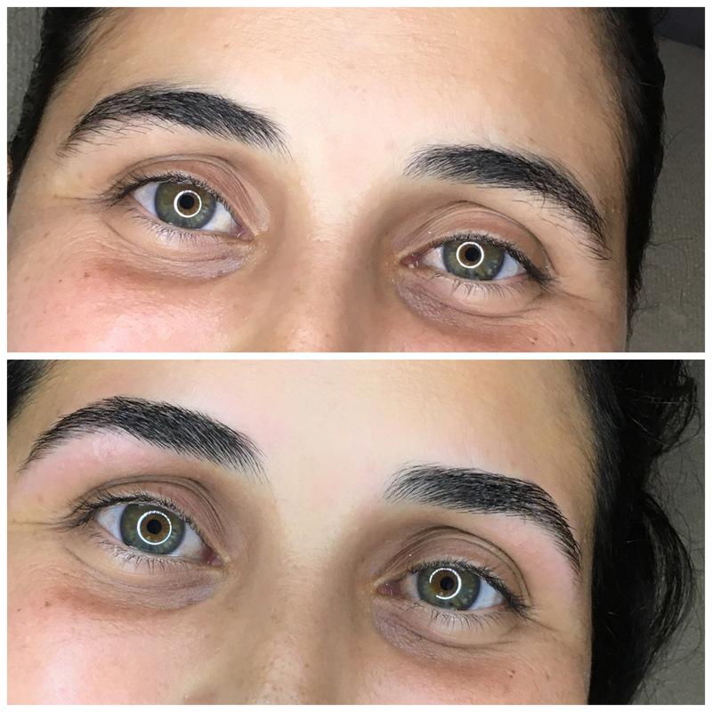 Designer de sobrancelhas armonioso e natural outros maquiador(a)