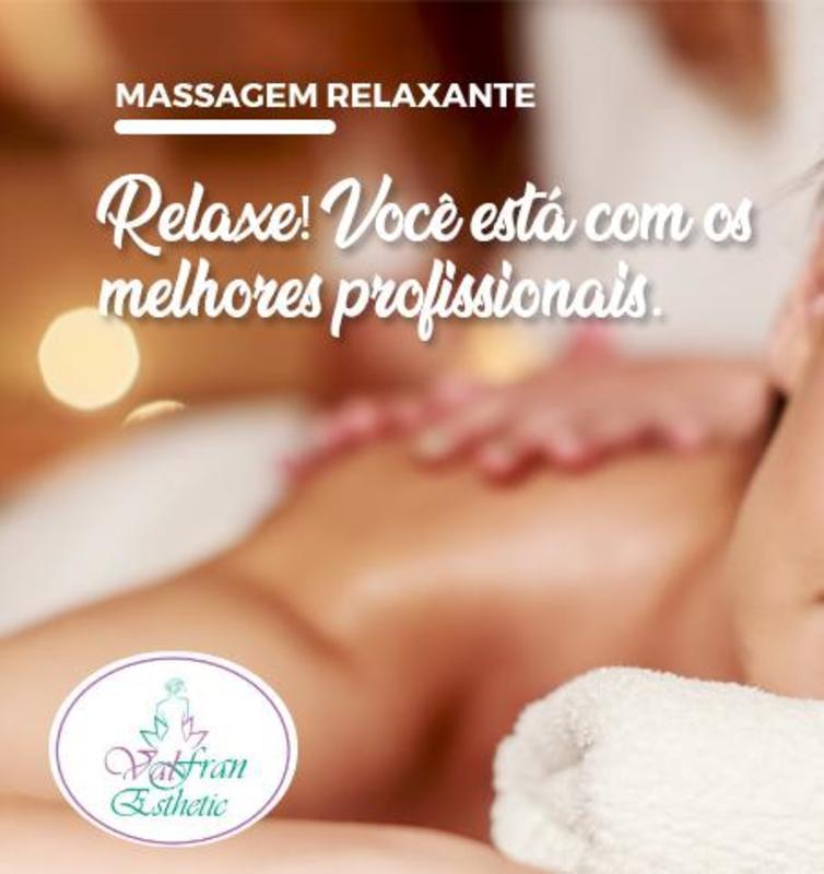 Massagem Relaxante Terapêutica estética esteticista