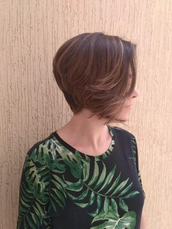 Cor e corte!  cabelo cabeleireiro(a) stylist / visagista maquiador(a)