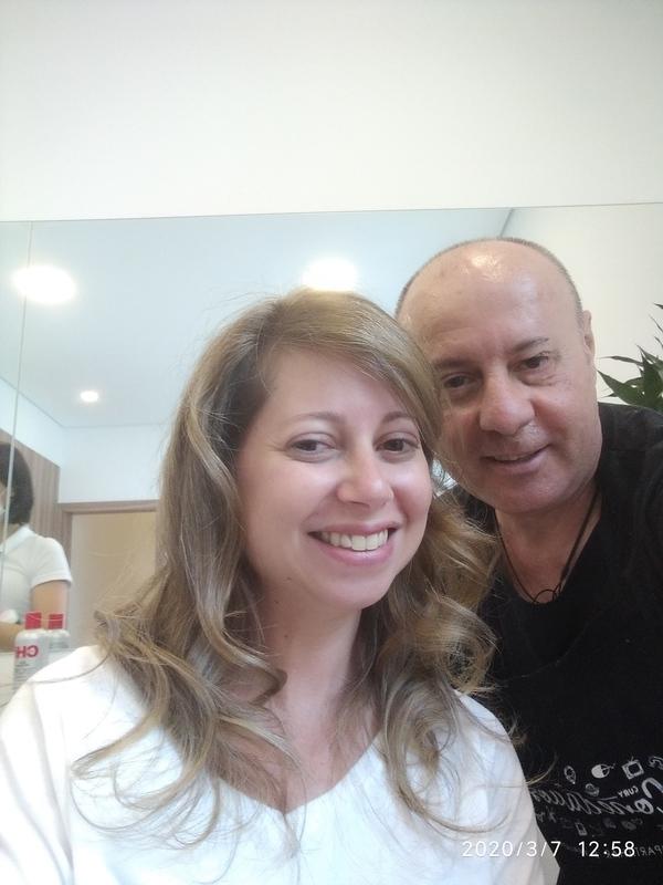 Luzes delicadas sutils! Depois. cabelo cabeleireiro(a) barbeiro(a) maquiador(a) designer de sobrancelhas depilador(a)