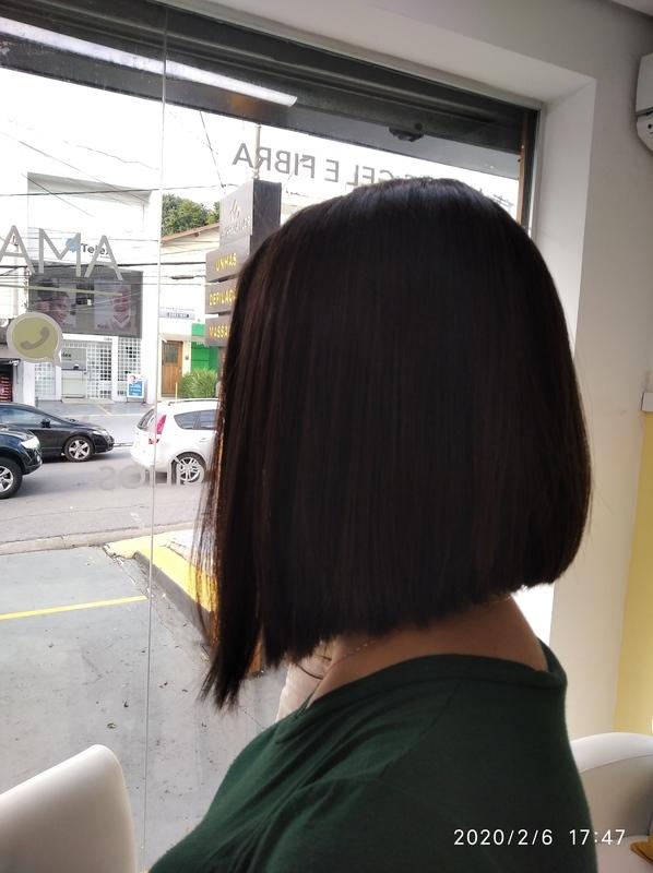 Long bob cabelo cabeleireiro(a) barbeiro(a) maquiador(a) designer de sobrancelhas depilador(a)