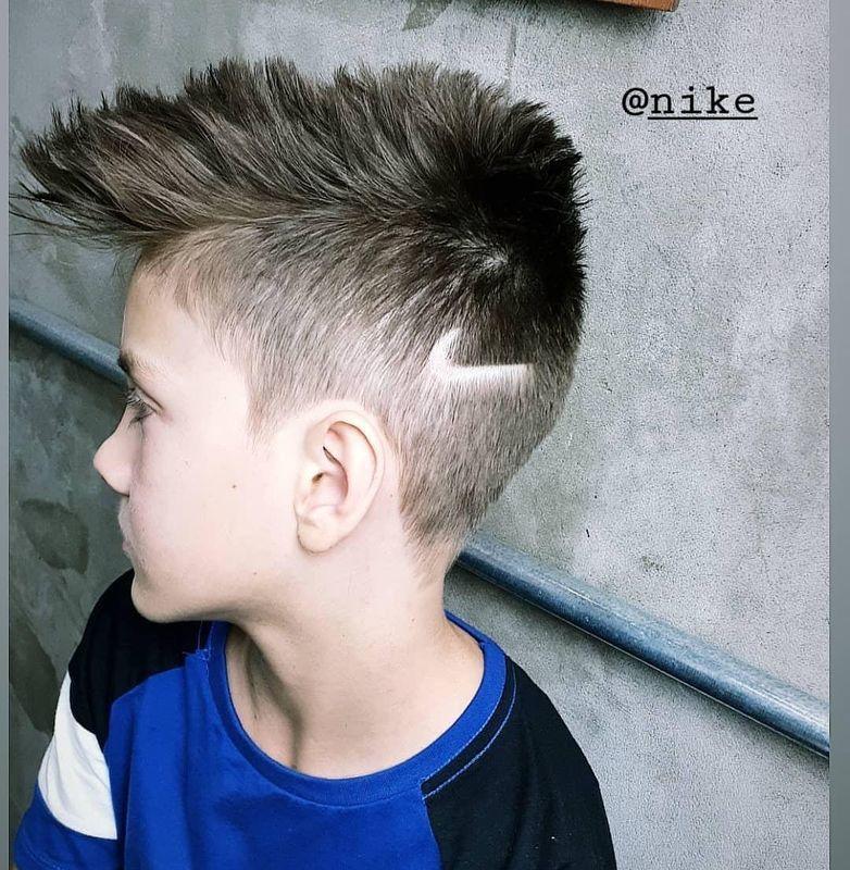 #CortedeCabelo #CorteMasculino #CorteInfantil #Kids #Nike #CorteArrepiado cabelo barbeiro(a) cabeleireiro(a)