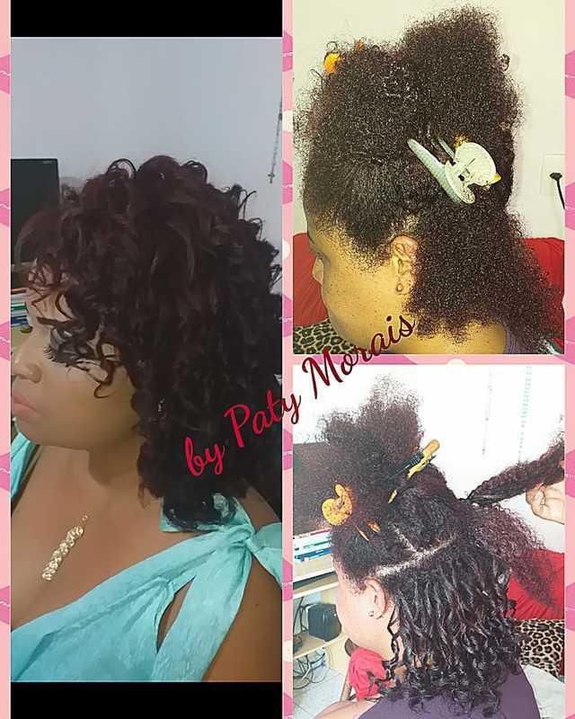Cachos definidos  cabelo outros