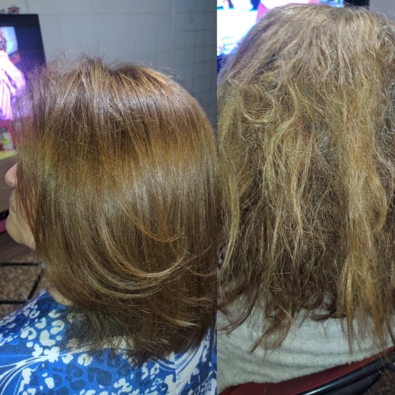 Correção de cor e reconstrução ... cabelo auxiliar cabeleireiro(a) cabeleireiro(a)