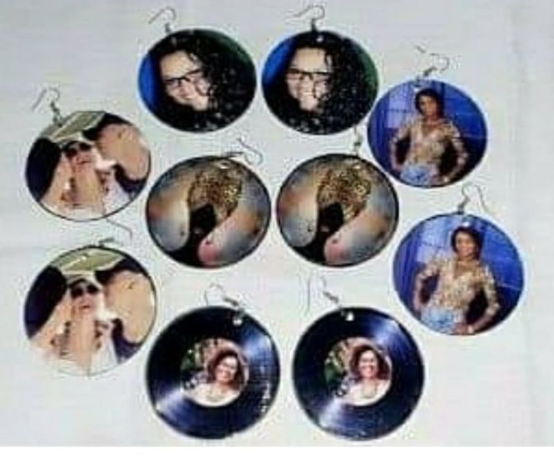 Brincos personalizados com sua foto ou não,  escolha a imagem que quiser. outros