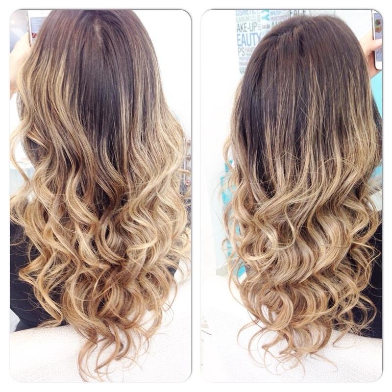 #hair #ondas #ombrehair #loiras cabelo cabeleireiro(a) auxiliar cabeleireiro(a)